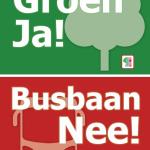 Posteractie voor de Groene Oosterhamrikzone (en tegen de gemeenteplannen)